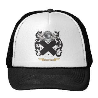 Kristen Coat of Arms (Family Crest) Mesh Hat
