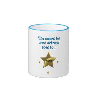 Kristen: El premio para la mejor actriz Taza De Dos Colores