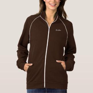 Kristen long sleeve brown t-shirt for ladies