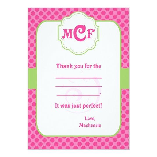 Kristen Thank you Card