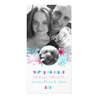 Kristen's Christmas Card   Custom Customized Photo Card