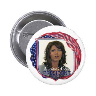 Kristi Noem para el presidente en 2016 Pins