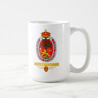 Kristiansand Classic White Coffee Mug