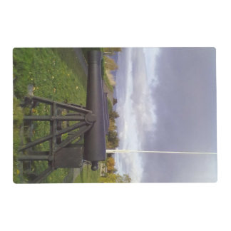 Kristiansten fortress canon placemat