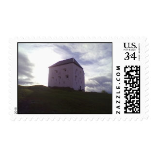 Kristiansten Fortress The defensive tower - donjon Stamps