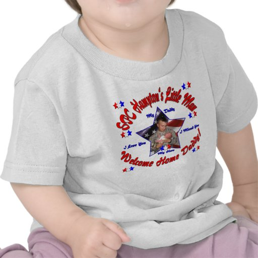 Kristie's Customized Welcome Home Daddy Shirt