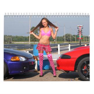 Kristin modelo calendarios
