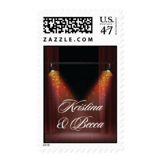 Kristina & Becca Stamp