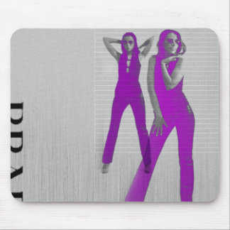 KRISTINA IN PURPLE MOUSE PAD