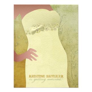 Kristine Bridal Shower Invitations
