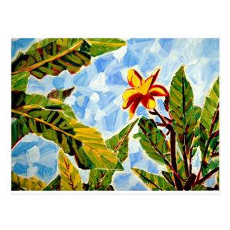 Kristin's Hawaii Art Postcard
