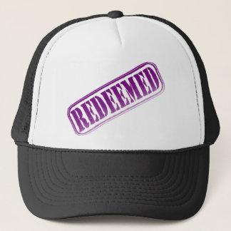 kristiyanoak_redeemed white trucker hat