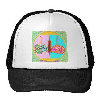 KRIYA - Action Clock n Anti-Clockwise Reiki Karuna Trucker Hats