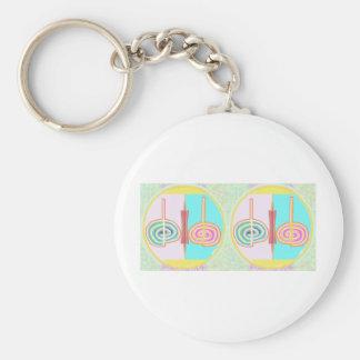 KRIYA - Karuna Reiki Basic Round Button Keychain