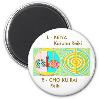 KRIYA n CHOKURAY 2 Inch Round Magnet