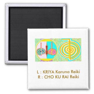 KRIYA n CHOKURAY 2 Inch Square Magnet