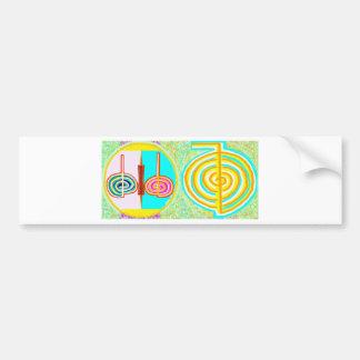 KRIYA n CHOKURAY Car Bumper Sticker
