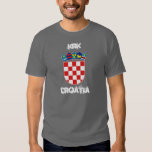Krk, Croatia with coat of arms T-shirts