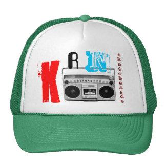 KRN anda en monopatín gorra del equipo estéreo por