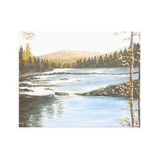 "KRNTUCKY DOWNSTREAM"" CANVAS PRINT"