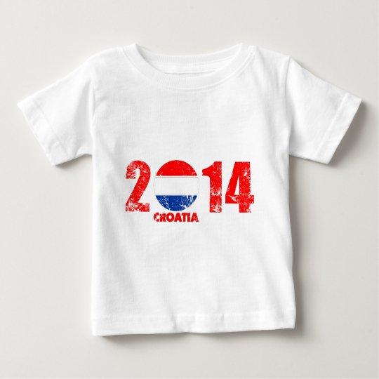 kroatien_2014.png baby T-Shirt