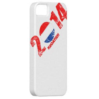 kroatien_2014.png iPhone 5 Case-Mate fundas