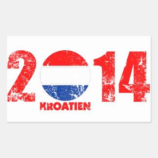 kroatien_2014.png rectangular pegatinas