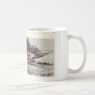 """Krokodil"" propaganda airplane Coffee Mugs"