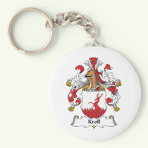 Kroll Family Crest Keychain