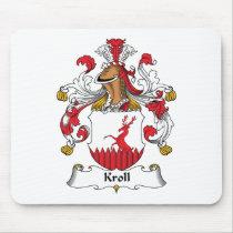 Kroll Family Crest Mousepad