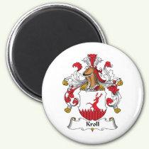 Kroll Family Crest Magnet
