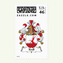Kroll Family Crest Stamps