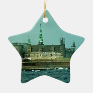 Kronborgs Castle Hamlets Castle In Denmark Ceramic Ornament