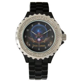 Krono Dynamic Fractal Art Wrist Watch