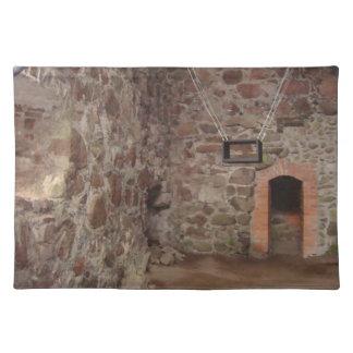 Kronoberg Castle Ruins - Sweden Cloth Placemat