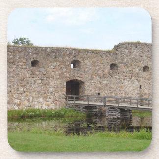 Kronoberg Castle Ruins - Sweden Drink Coaster
