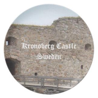 Kronoberg Castle Ruins - Sweden Melamine Plate