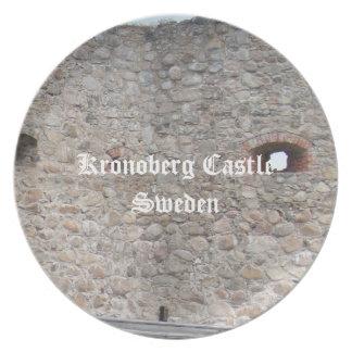 Kronoberg Castle Ruins - Sweden Plate