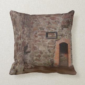 Kronoberg Castle Ruins - Sweden Throw Pillow