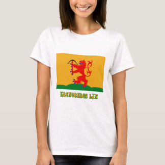 Kronobergs län flag with name T-Shirt