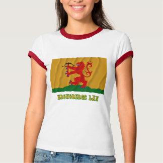 Kronobergs län waving flag with name T-Shirt