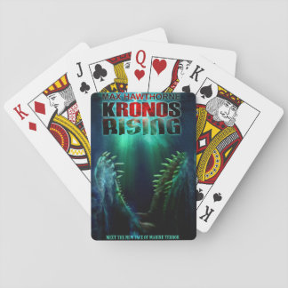 KRONOS RISING Cover Art Playing Cards