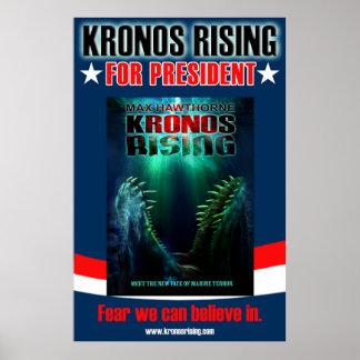KRONOS RISING For President poster