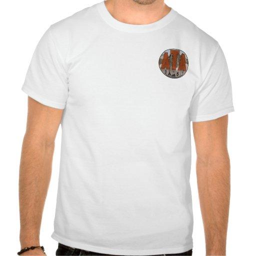 Kronplatz - esquís en el mojón tee shirt