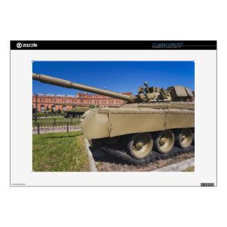 "Kronverksky Island, Artillery Museum, tanks 15"" Laptop Skin"