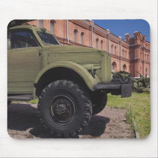 Kronverksky Island, Artillery Museum, truck Mouse Pad