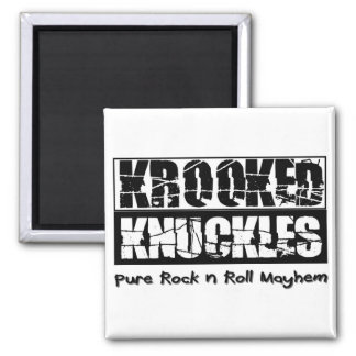 Krooked Knuckles, pure rock n roll mayhem Magnet