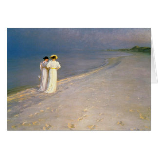 "Kroyer's ""Summer Afternoon on Skagen South Beach"" Card"