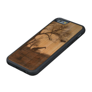 Kruger Giraffe Carved® Cherry iPhone 6 Bumper Case