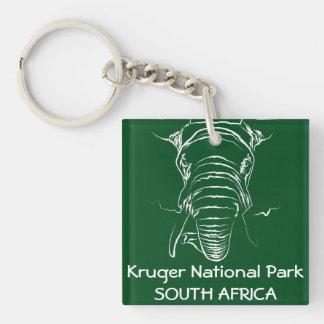 Kruger National Park Keychain